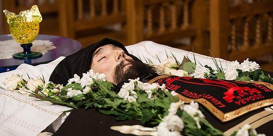 Монах Серафим после отшествия ко Господу