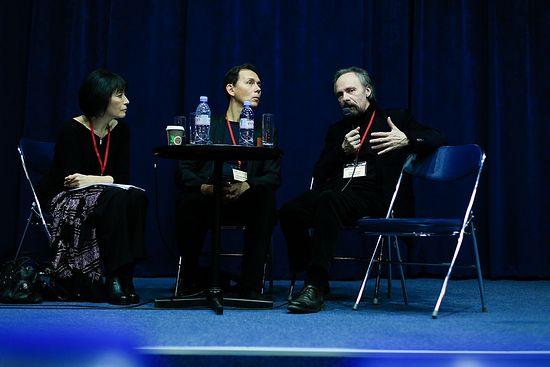 Пресс-конференция в Московском доме журналиста. Фото: Юлия Руденко