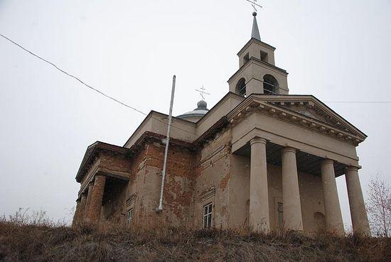 Свято-Благовещенский храм в поселке Веселая гора