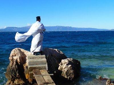 Происхождение и содержание чина великого освящения воды на праздник Богоявления