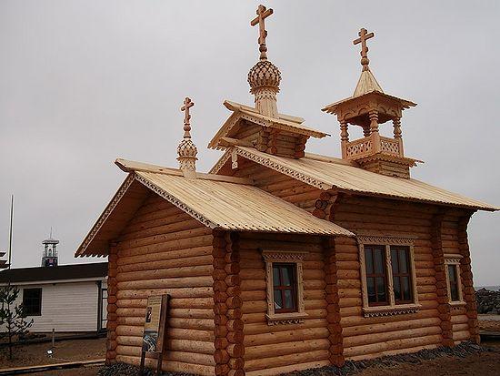 База МЧС под Вытегрой, храм прп. Ионы Клименецкого