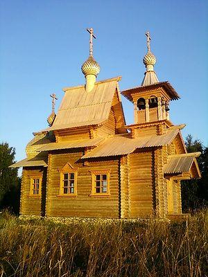 Покровский храм в с. Покровском, Вашкинский р-н
