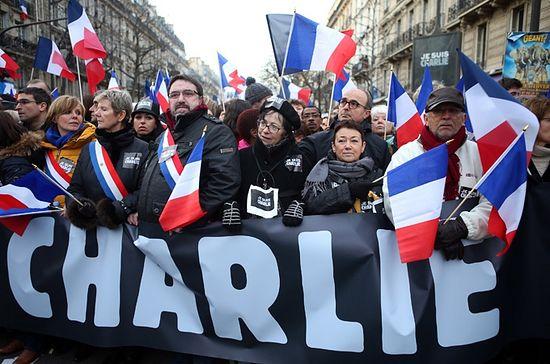 Демонстрация «Я - Шарли!»