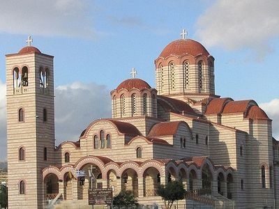 На Кипре освятят церковь в честь прпп. Арсения Каппадокийского и Паисия Святогорца
