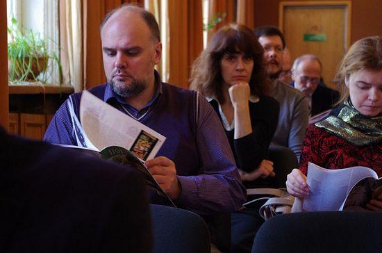 Гости и участники конференции, посвященной Старцу Паисию Святогорцу и св. Косьме Этолийскому