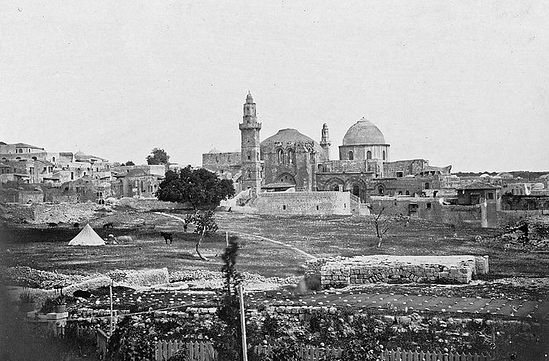 Храм Гроба Господня. 1862