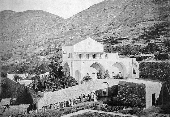 Ер-Рамэ. Галилея. Здание школ Императорского Православного Палестинского общества