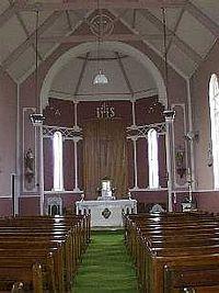 Altar of the Kilmeedy church