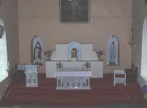 Ashford church altar
