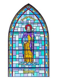 St. Ita - a stained glass