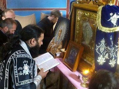 Чудотворная икона Божией Матери «Умиление» покидает Грузию