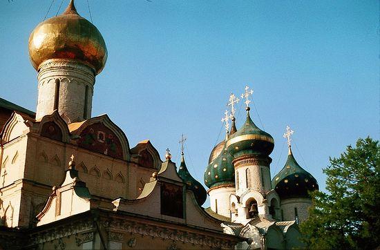 Троицкий собор Троице-Сергиевой лавры. Фото 1964 г.