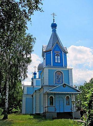 Пострадавший Свято-Покровский храм