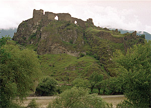 Ruins of Atsquri fortress.