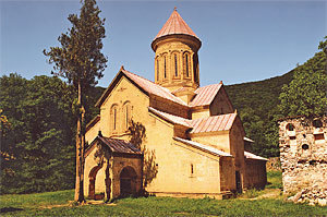 Kvabtakhevi Church in southeastern Georgia.