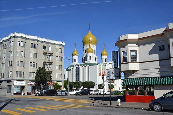 Сан-Франциско, Калифорния. Кафедральный собор иконы Божией Матери Всех скорбящих Радость