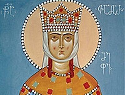 Holy Queen Tamar (†1213)