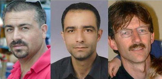 Убитые - двое турок и один немец - были найдены с перерезанным горлом