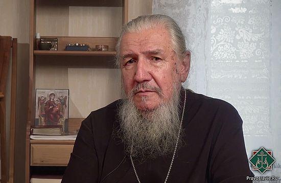 Архимандрит Антоний (Гулиашвили). Фото: Pravlib.ru