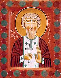 Holy Hieromartyr Tevdore of Kvelta