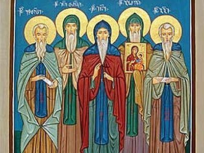 Venerable Ioane-Tornike of Mt. Athos (10th century)
