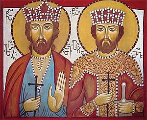 Holy Royal Martyrs Luarsab and Archil