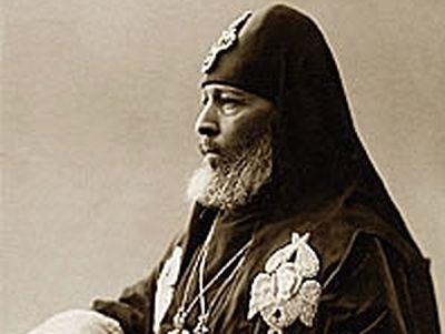 Holy Hieromartyr Kirion, Catholicos-Patriarch of All Georgia (†1918)