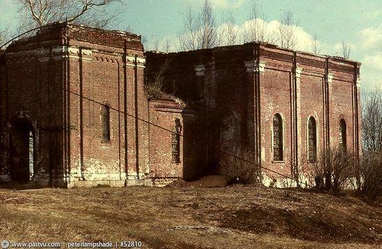 Храм Рождества Пресвятой Богородицы в Крылатском. Фото 1988 г.
