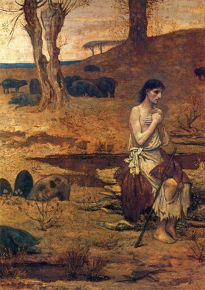 The Prodigal Son. Pierre Puvis de Chavannes