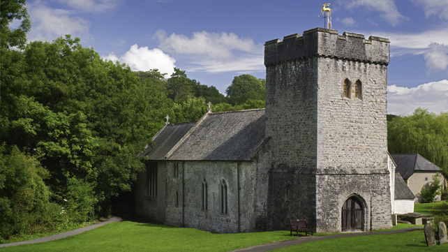 St. Cadoc's Church, Llancarfan.