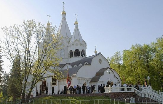 Храм в честь Святых новомучеников и исповедников Российских в Бутове