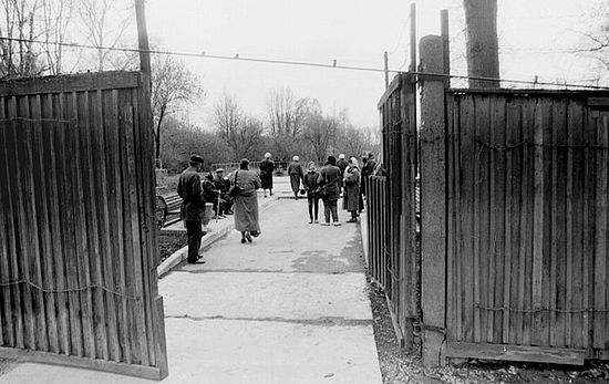 1993 год. Первое посещение Бутовского полигона родственниками пострадавших там