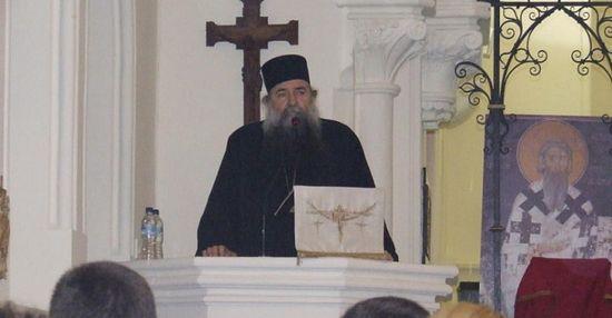 отац Лука беседи на Светосавској Академији на Малти 27. 01.2013. године ( после 10 дана се упокојио у манастиру Дајбабама код Подгорице)