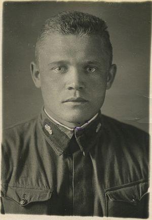 Курсант Борис Лихачев после окончания танкового училища. 1938 г.
