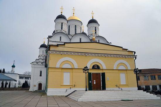 Храм Рождества Пресвятой Богородицы Свято-Пафнутьева Боровского монастыря