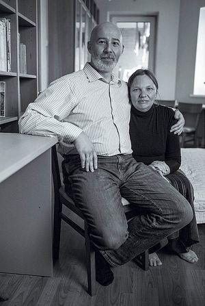 Василий Александрович и Наталья Юрьевна Ялтанские