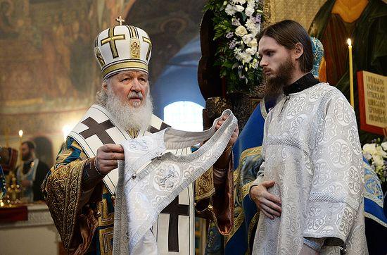 Рукоположение в сан иеромонаха иеродиакона Иннокентия (Присадкова)