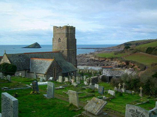 St. Werburgh's Church in Wembury, Devon