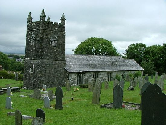 St. Werburgh's Church in Warbstow, Cornwall