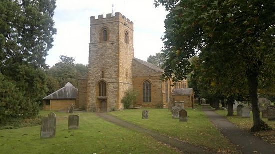 Church of Sts. Peter and Paul in Weedon Bec, Northamptonshire