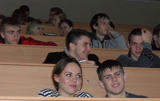 Студенты Луганска