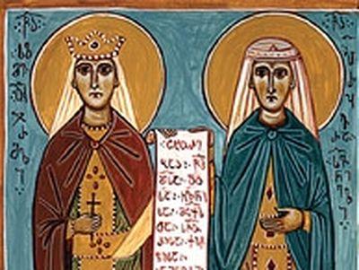 Saints Salome of Ujarma and Perozhavra of Sivnia (4th century)