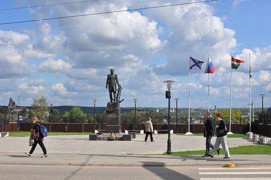 На улицах Боровска