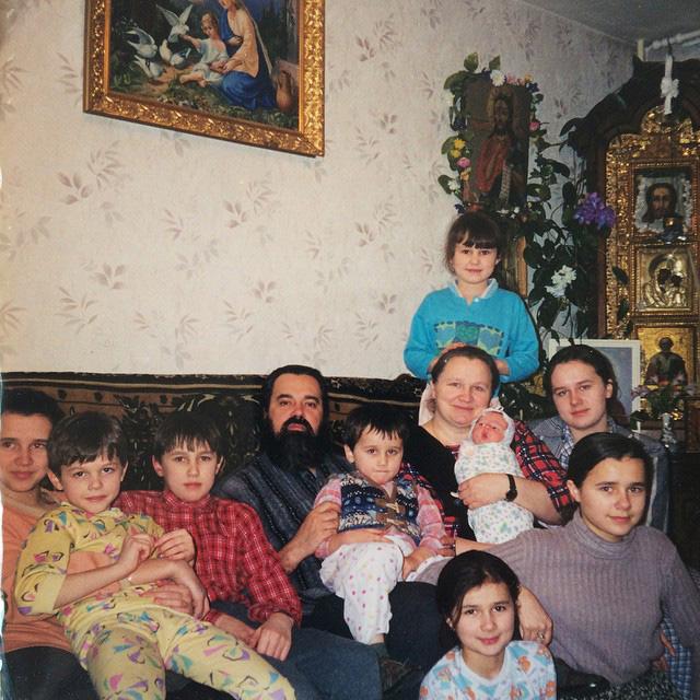 Семья Соколовых в сборе