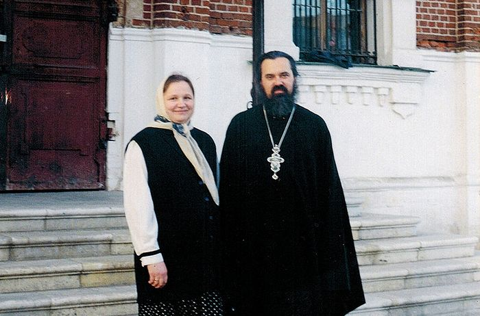 Протоиерей Феодор и матушка Галина Соколовы