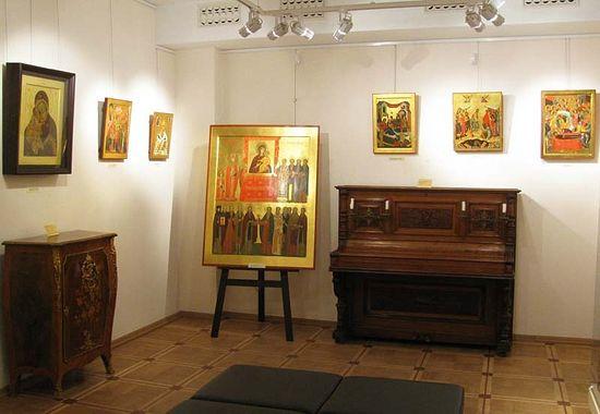 В московском музее В.А.Тропинина открылась выставка работ студентов-иконописцев ПСТГУ