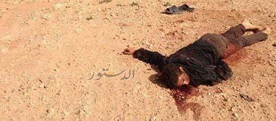 Один из убитых в пустыни христиан
