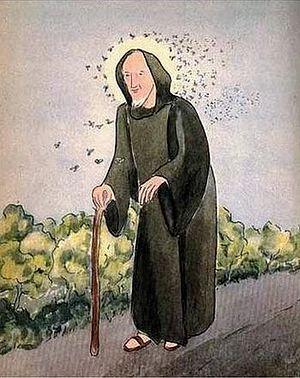 patron saint of bees