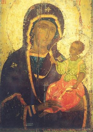 Icon of Suzdal Pokrovsky Monastery