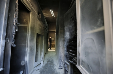 An arson attack on a Greek Orthodox seminary in Jerusalem last week is one of a number of suspected hate crimes against Christians and Muslims in the area.